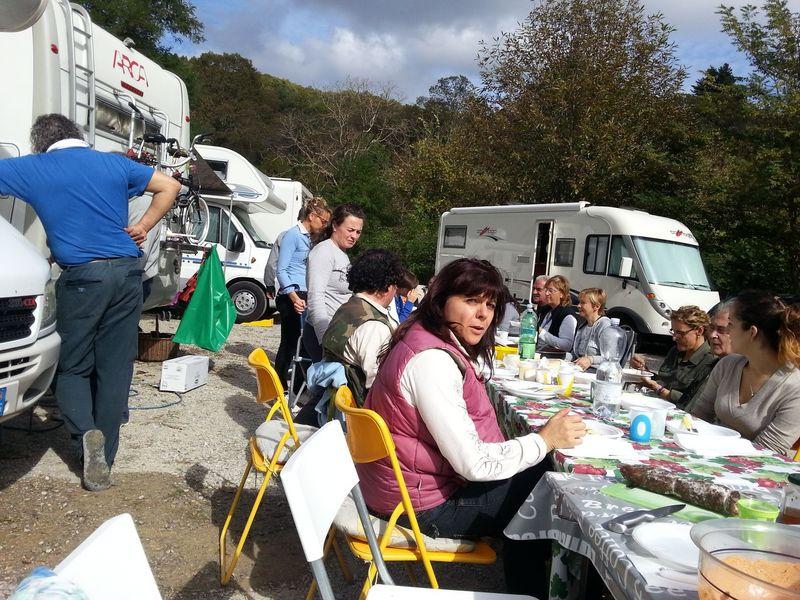 Raccolta castagne Santa Fiora 2013