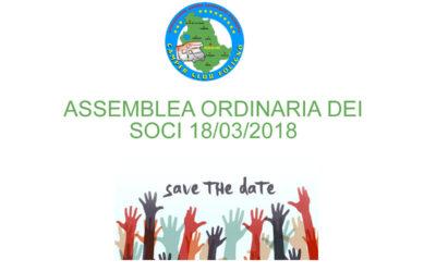 Assemblea dei Soci del Camper Club Foligno 18/03/2018