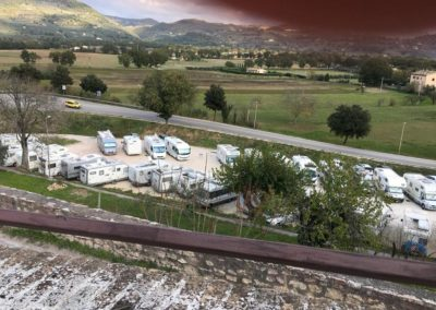 Raduno Spello Camper Club Foligno