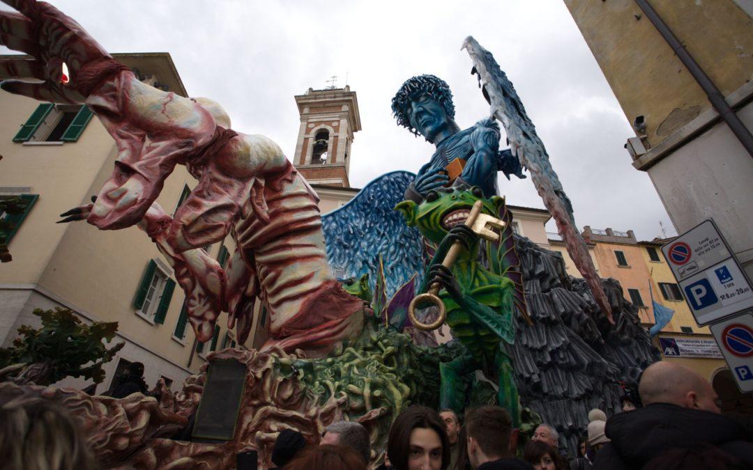 Uscita Camper Club Arezzo e Carnevale di Foiano della Chiana 08/10 Febbraio 2019