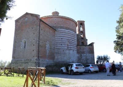 191004 Week End Monteriggioni-Poggibonsi-San Galgano 4-6 ottobre 2019 189 San Galgano Cappella di San Galgano a Montesiepi Canon