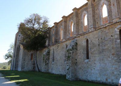 191004 Week End Monteriggioni-Poggibonsi-San Galgano 4-6 ottobre 2019 196 San Galgano Abazia San Galgano Canon