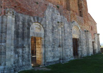 191004 Week End Monteriggioni-Poggibonsi-San Galgano 4-6 ottobre 2019 197 San Galgano Abazia San Galgano Canon
