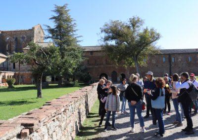191004 Week End Monteriggioni-Poggibonsi-San Galgano 4-6 ottobre 2019 207 San Galgano Abazia San Galgano Canon