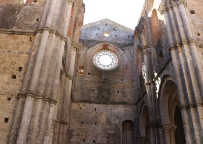 191004 Week End Monteriggioni-Poggibonsi-San Galgano 4-6 ottobre 2019 227 San Galgano Abazia San Galgano Canon